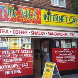 Nettimyynti ei ole sama asia kuin nettikahvila
