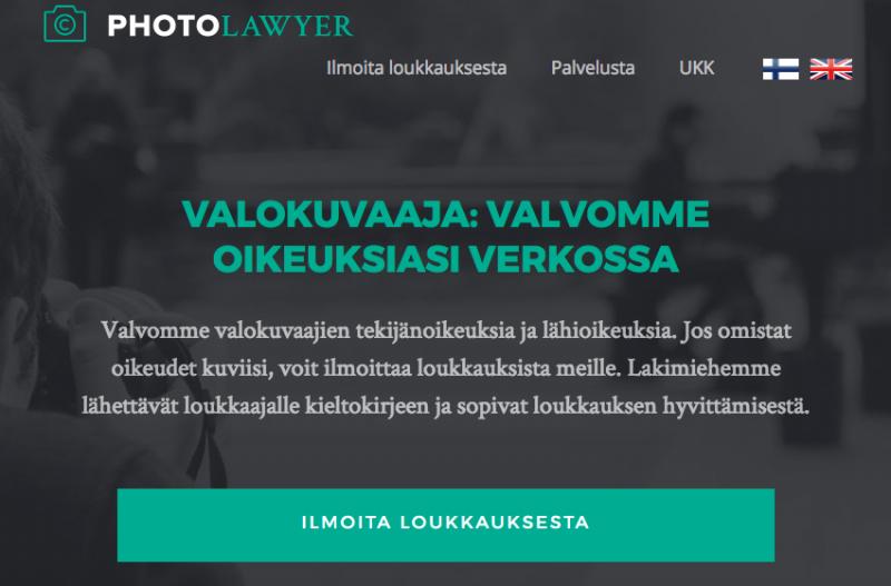 tekijänoikeus tuomiot suomessa